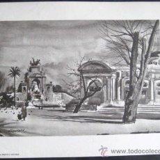 Arte: LAMINA FEDERICO LLOVERAS. BARCELONA. ENVIO GRATIS¡¡¡. Lote 8535487