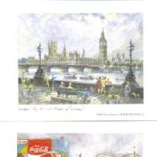 Arte: 8 LAMINAS .. LONDRES .. 1988 THOMAS BENACCI . Lote 26416605