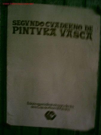SEGUNDO CUADERNO DE LA PINTURA VASCA AÑOS 70 PUERTO VIEJO DE BERMEO, ALGORTA. BARRIO DE PESCADORES (Arte - Láminas Antiguas)