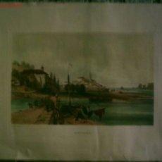 Arte: FUENTERABIA A. WILKINSON ESQ.ª DELT EL PAPEL CON RELIEVE IMITANDO A UN GRABADO. Lote 21182808