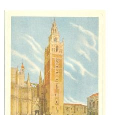 Arte: LAMINA LA GIRALDA SEVILLA. Lote 10152566