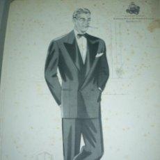 Arte: LAMINA DE MODA MASCULINA AÑO 1952 TAMAÑO 320X220 DIBUJA TUSELL RIBAS. Lote 10609690
