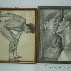 Arte: 2 INSINUANTES LAMINAS. Lote 22983496