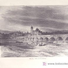 Arte: LAMINA - VISTA DE SALAMANCA (SIGLO XIX). Lote 15652529