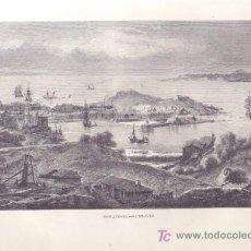 Arte: LAMINA - INGLATERRA, SAINT-IVES (SIGLO XIX). Lote 27346894