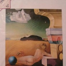 Arte: LAMINA DE SALVADOR DALI 40 X 30 CM. (SIN ABRIR). Lote 27545544
