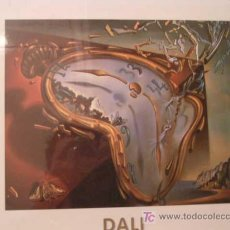 Arte: LAMINA DE SALVADOR DALI 30 X 40 CM. (SIN ABRIR). Lote 27565392