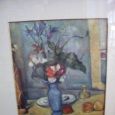 Arte: LAMINA ENMARCADA FLORES. Lote 12580848