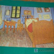Arte: LAMINA REPRODUCCION - LA CASA AMARILLA- VICENT VAN GOGH - DIMENSION 39 X 23,5 - . Lote 22296643