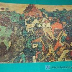 Arte: LAMINA REPRODUCCION - EGON SCHIELE- DIMENSION 39 X 23,5 - . Lote 22296646