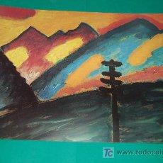 Arte: LAMINA REPRODUCCION - ALEXWJ VON JAWLENSKY- DIMENSION 39 X 23,5 - . Lote 24847212