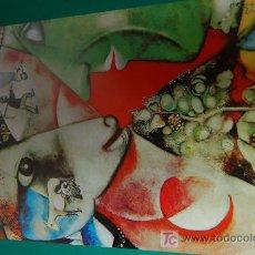 Arte: LAMINA REPRODUCCION - MARC CHAGALL- DIMENSION 39 X 23,5 - . Lote 24847213