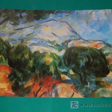 Arte: LAMINA REPRODUCCION - PAUL CEZANNE- DIMENSION 39 X 23,5 - . Lote 24847214