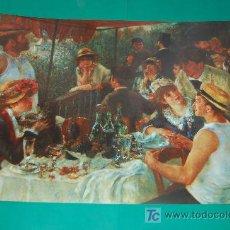 Arte: LAMINA REPRODUCCION - AUGUSTE RENOIR- DIMENSION 39 X 23,5 - . Lote 24847215