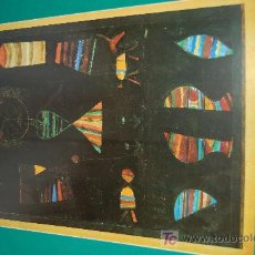 Arte: LAMINA REPRODUCCION - PAUL KLEE- DIMENSION 39 X 23,5 - . Lote 24847218
