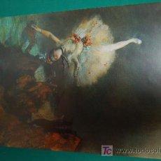 Arte: LAMINA REPRODUCCION - EDGAR DEGAS - DIMENSION 39 X 23,5 - . Lote 24847219