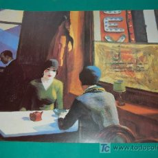 Arte: LAMINA REPRODUCCION - EDWARD HOPPER - DIMENSION 39 X 23,5 - . Lote 24847222