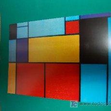Arte: LAMINA REPRODUCCION - PIET MONDRIAN - DIMENSION 39 X 23,5 - . Lote 20035996
