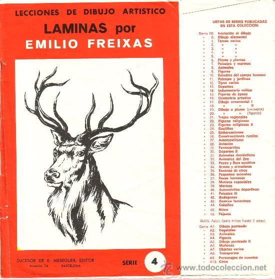 Lecciones de dibujo art stico l minas por emi comprar l minas antiguas en todocoleccion - Laminas de dibujo artistico ...