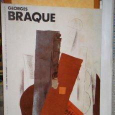Arte: CARTEL EXPOSICION GEORGES BRAQUE: EL PEQUEÑO ILUMINADOR (1913).. Lote 168836749