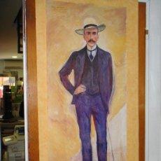 Arte: CARTEL BERLIN PUNTO DE ENCUENTRO. EDWARD MUNCH: 'EL CONDE HARRY KESSLER'.. Lote 24651313
