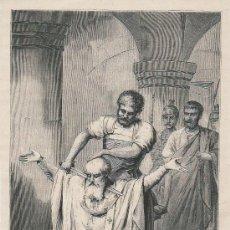 Arte: LÁMINA - SAN EUGENIO I, ARZOBISPO DE TOLEDO. Lote 15161055