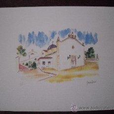 Arte: LAMINAS DE PAISAJES DE PETRER. Lote 13559262