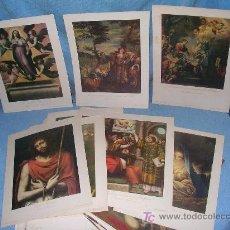 Arte: EXCEPCIONAL LOTE DE 147 ANTIGUAS LAMINAS - EDICIONES BARSAL.. Lote 26759649