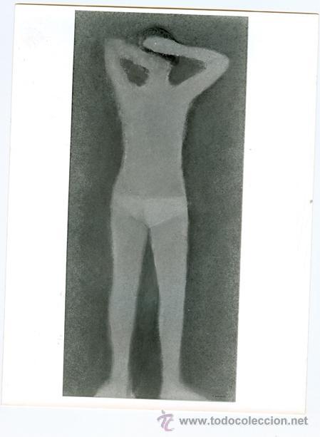 LÁMINA ARTE DIBUJO PERSONA (Arte - Láminas Antiguas)