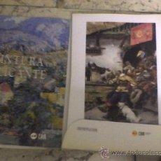 Arte: 150 AÑOS DE PINTURA ALICANTINA EN ALICANTE PINTORES DE ALICANTE 49 PINTORES CAEPETA Y CATALOGO. Lote 20116097