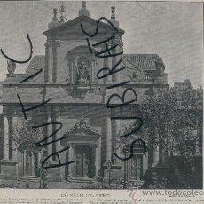 Arte: LAMINA. FOTO. ANTIGA. BARCELONA. S. XX. SAN MIGUEL DEL PUERTO. . Lote 16941012