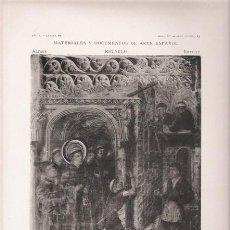Arte: FOTOTIPIA ORIGINAL DE 1905. RETABLO. BARCELONA. MILAGRO DE SAN ANTONIO DE PADUA.. Lote 21693851