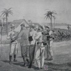 Arte: GUERRA CUBA.SALADO.CAPTURA PERIODISTAS DEL WOLD. Lote 17456104