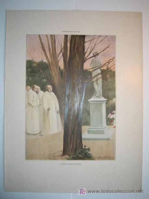 VENUS SACRATISIMA - LAMINA (FINALES SIGLO XIX) (Arte - Láminas Antiguas)