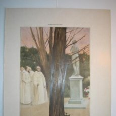 Arte: VENUS SACRATISIMA - LAMINA (FINALES SIGLO XIX). Lote 17605342