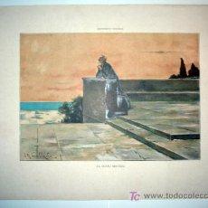Arte: EL SEXTO SENTIDO - LAMINA (FINALES SIGLO XIX). Lote 17605352