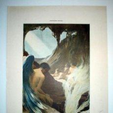 Arte: NUEVO TANTALO - LAMINA (FINALES SIGLO XIX). Lote 17605405