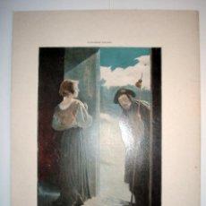 Arte: LA COMPASIÓN - LAMINA (FINALES SIGLO XIX). Lote 17605424
