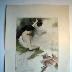 Arte: LA METEMPSICOSIS - LAMINA (FINALES SIGLO XIX). Lote 17605524