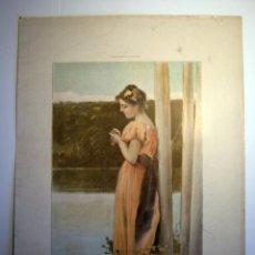 Arte: LAMINA - EL PAJARO CIEGO. Lote 19265310