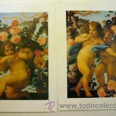 Arte: 2 LAMINAS ANGELES. Lote 25491421