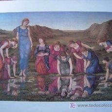 Arte: EL ESPEJO DE VENUS / EDWARD BURNE -JONES - PINACOTECA SALVAT. Lote 17930692
