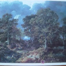 Arte: EL BOSQUE DE CORNARD / THOMAS GAINSBOROUGH - PINACOTECA SALVAT. Lote 17930732