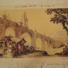Arte: MADRID PUENTE DE TOLEDO. Lote 19302547