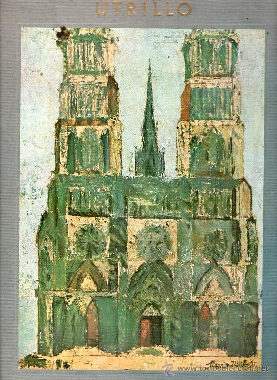 MAURICE UTRILLO. SKIRA NEW YORK. 6 LAMINAS. DIBUJOS A COLOR. PRINTED IN SWITZERLAND. (Arte - Láminas Antiguas)