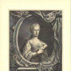 Arte: RETRATO DE MARÍA LUISA DE BORBON – EMPERATRIZ DE ALEMANIA. Lote 27423884