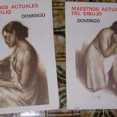 Arte: MAESTROS ACTUALES DEL DIBUJO DOMINGO . (FIGURAS DE MUJER).. Lote 142506940