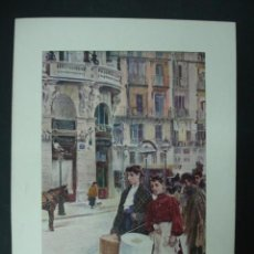 Arte: COLECCIÓN BLANCO Y NEGRO. 'LAS APRENDIZAS'. DIBUJO DE FERNANDO ALBERTI. 20,5 X 28,5 CM. MADRID.. Lote 23421088
