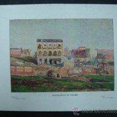 Arte: COLECCIÓN BLANCO Y NEGRO. 'ALREDEDORES DE MADRID'. DIBUJO DE A. DE BERUETE. 20,5 X 28,5 CM.. Lote 23421385