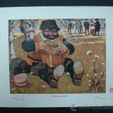 Arte: COLECCIÓN BLANCO Y NEGRO. 'SANCHO DE BODA'. DIBUJO DE J. PEDRAZA. 20,5 X 28,5 CM.. Lote 23421505